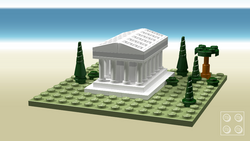 Ancient greek temple (micro model)