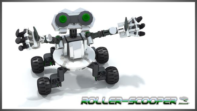 ROLLER-SCOOPER V4 16-9