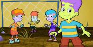 Gollywood Kids (Deeno on far right)