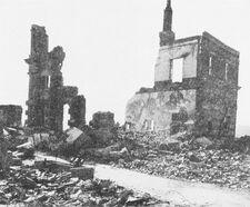 War Destruction in Serbia