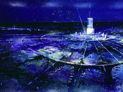 Jerna City at Night