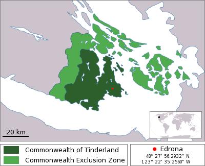 Tinderland-map