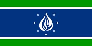 Tinderland-flag