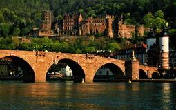 Castle and the Old Bridge, Heidelberg, Germany-3619