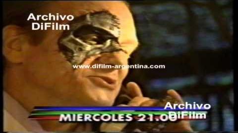 """DiFilm - Promo del unitario """"Cybersix"""" con Carolina Peleritti (second video) (1996)"""