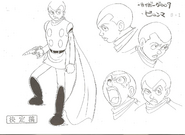 Cyborg 008-Model Sheet