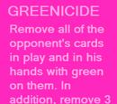 Greenicide