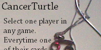 The Curse of CancerTurtle