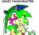 Sonic Fancharacter