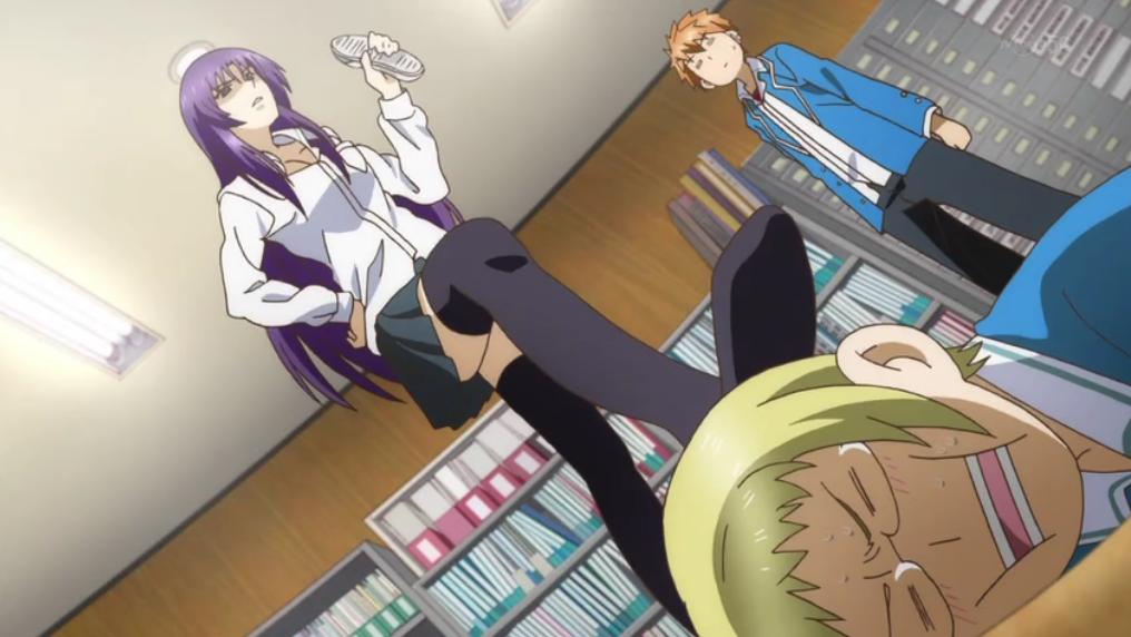 D Frag Anime Characters : Image d frag episode legend of heroic masochist ataru