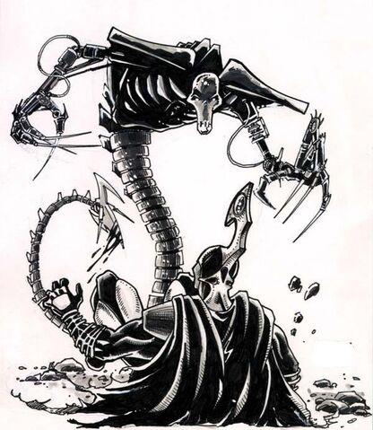 File:Necron Wraith Artwork.jpg