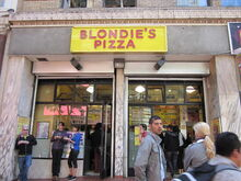 Blondie's Pizza SF exterior