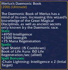 Merlus's Daemonic Book