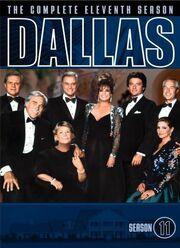 Dallas (1978) Season 11 DVD cover