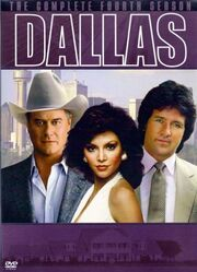 Dallas (1978) Season 4 DVD cover