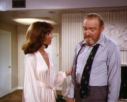 Dallas TOS - Episode 2x14 - Garrison talking with Sue Ellen
