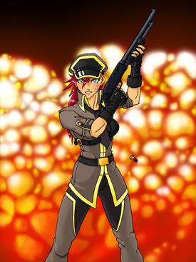 Shamira on the job by black ratchet-d3azk4h