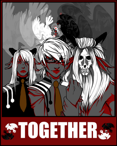 File:Dammed unite collab poster by ten chan-d477cdp.png