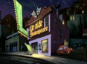 Yee old shakespeare dinner theatre