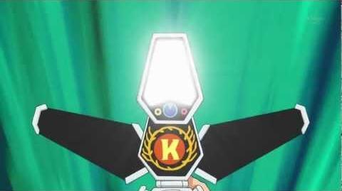 Danball Senki W (ダンボール戦機W) Burning Mode Knight Mode (HD)