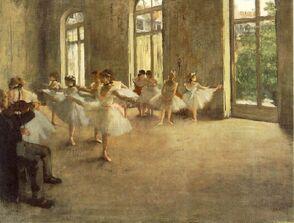 Degas.rehearsal