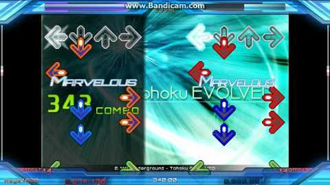 Tohoku EVOLVED DSP (P1 - Rainbow, P2 - Note)