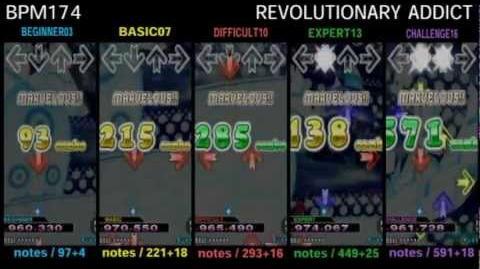 DDR X3 REVOLUTIONARY ADDICT - SINGLE