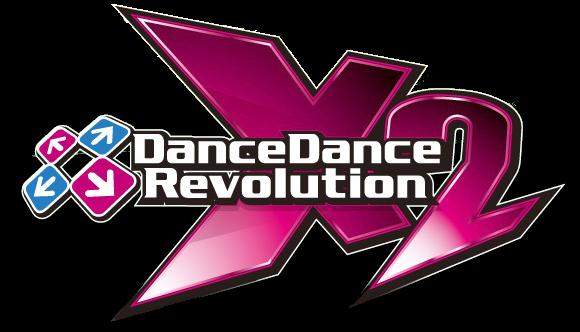 File:DanceDanceRevolution X2 - Logo.png