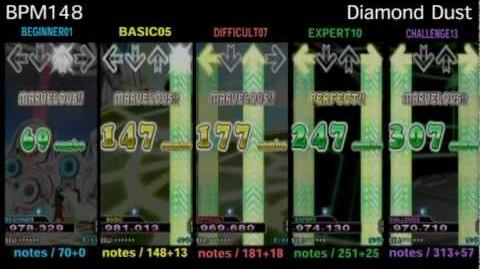 DDR X3 Diamond Dust - SINGLE
