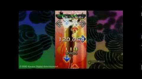 PS3版DDR CRAZY LOVE (EXPERT) over 2,000,000
