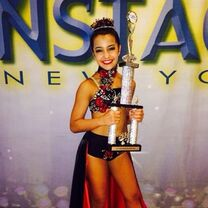 Alyssa Chi Onstage NY Nationals via applecorefanpage