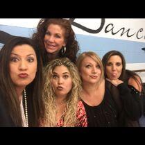 CADC moms - frontrow Jennifer - Melanie - Liza - Laura - backrow Renee