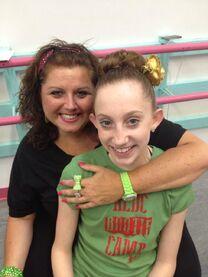 Chloe Smith with Abby Aug2013 Booty Camp