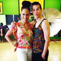 Ricky Palomino and Kristie Ray