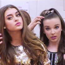 Kalani and Kendall getting ready - 2015-05-28