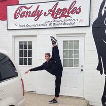 Nick Daniels-Instagram-Candy Apples Dance Center