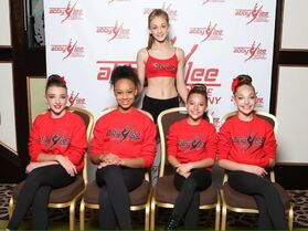 Chloe Greenwood with ALDC Nov2014 via Twitter