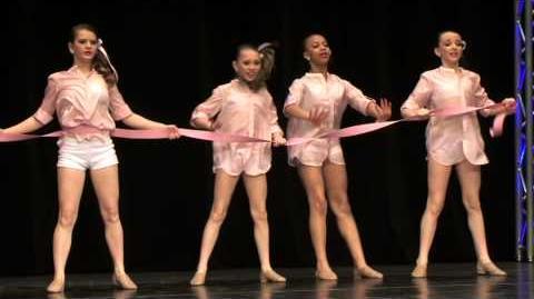Living with the Ribbon - Full Dance - Lifetime Dance Moms