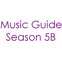 Music Guide Season 5B Century Gothic Font 2