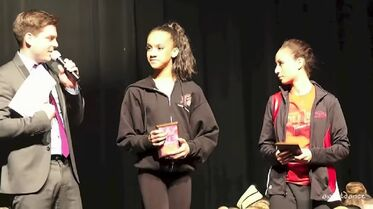 Kaeli Ware and Hope Roberts at Fierce - jnl5 7SJTdU - Other ALDC Dancers at Fierce Dance Competition 2