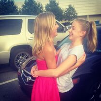 Chloe Paige reunited 18June2014 Chloes Instagram