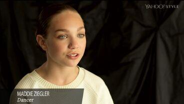 Maddie Ziegler - Yahoo Style shoot segment - June2015