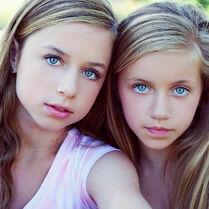 Talia Seitel (left) Kayla Seitel (right) levels