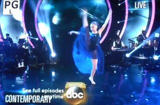 Maddie - Hold Down the River - Dancing with the Stars - 5May2015