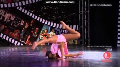 Dance Moms Nia's Solo 20 Scat