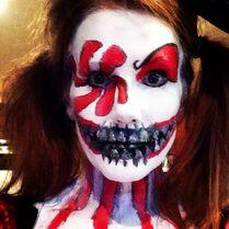 Tami Halloween makeup 2014