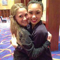 Haley with Jade 2014-06-23