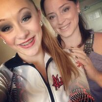 Kate with Kaleigh in ALDC jacket