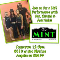 631 The Mint performance poster
