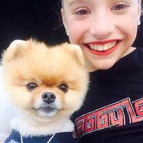 Mackenzie and Jiffpom 30May2015